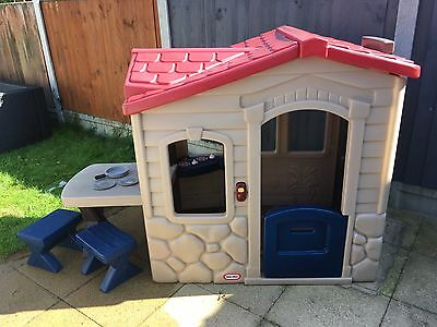Little Tikes Picnic On The Patio Playhouse U2022 £36.00