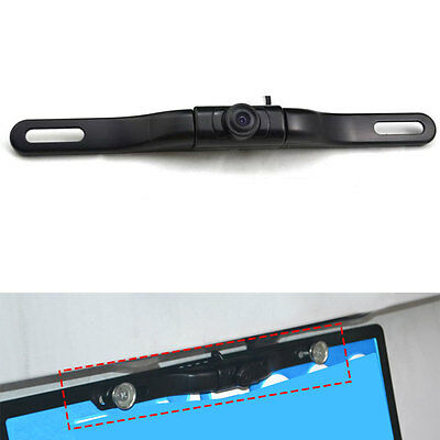 Car Wireless 170°Rear View Reverse Backup License Plate Camera IR Night Vision