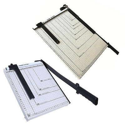 Professional Office A3 / A4 Paper Cutter Guillotine Trimmer Machine Safety Guard