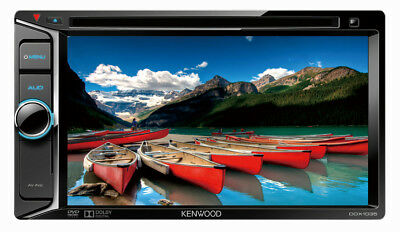 Kenwood DDX1035 6.2inch OEM Plug&Play Touchscreen Double DIN DVD Stereo Receiver