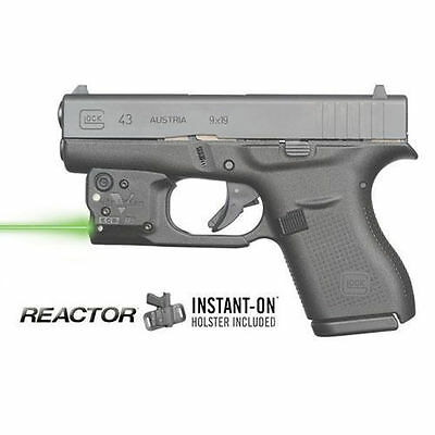 Viridian R5-G43 Glock 43 Reactor 5 Green Laser Sight with ECR & Holster