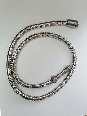 1M Braided Flexible Shower Hose Water Heater Connector Pipe Tube New