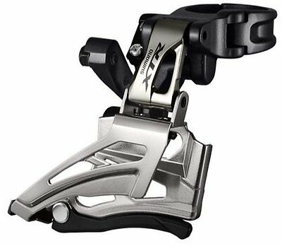 Shimano 9025 XTR 11 Speed Double Front Derailleur Dual Pull Down Swing Direct