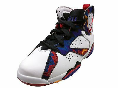 "Jordan 7 Retro ""Sweater"" White/University Red-Black-Bright Concorde (PS) (304773"