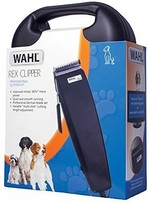 PET hair clippers professional Wahl Rex 1230 multi cut pro dog quiet light