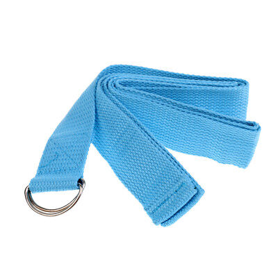 Yoga Strap D-Ring Belt Exercise Cotton Strap for Stretching And Flexibility