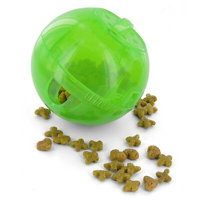 PetSafe SlimCat™ Treat Dispensing Cat Toy Ball Dishwasher Safe - Green