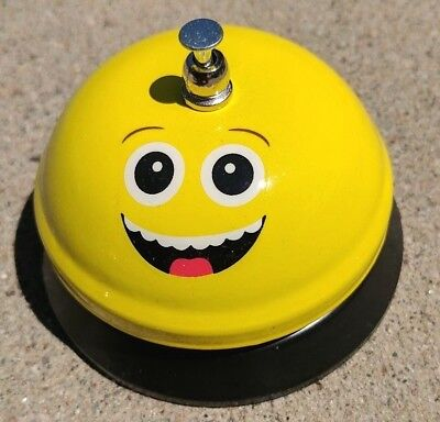 Emoji Service Bell, Smiling, Desk Top, Service Counter, Ringer