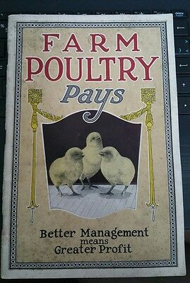 Farm Poultry Pays-Instruction book 1926. Bank of Montreal.