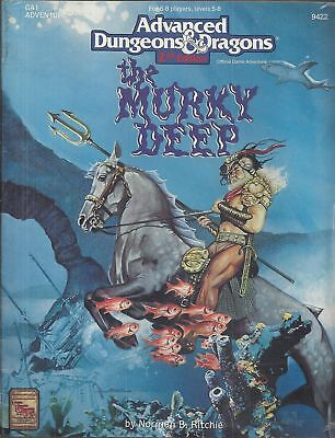 Advanced DUNGEONS & DRAGONS 2nd edition THE MURKY DEEP - in americano