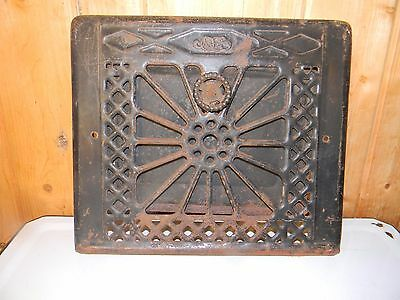 Antique Floor Wall Heat Grate Register