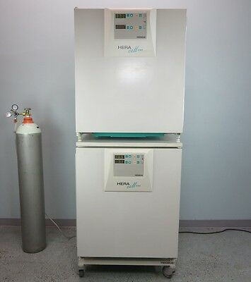 Thermo Heracell 240 CO2 Copper Interior Incubator Dual Stack with Warranty