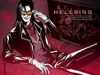 "DM02110 Hellsing - Hot Japan Anime Vampire Fighting 31""x24"" Poster"