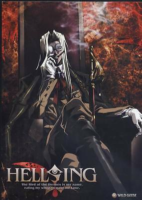 "DM02122 Hellsing - Hot Japan Anime Vampire Fighting 24""x33"" Poster"
