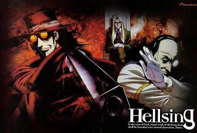 "DM02096 Hellsing - Hot Japan Anime Vampire Fighting 35""x24"" Poster"