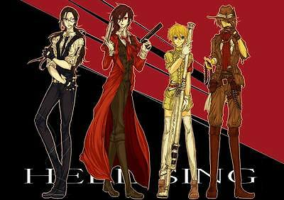 "DM02059 Hellsing - Hot Japan Anime Vampire Fighting 34""x24"" Poster"