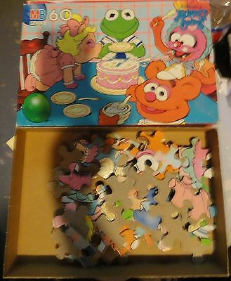 Muppet Babies 60 Piece Jigsaw Puzzle - Complete