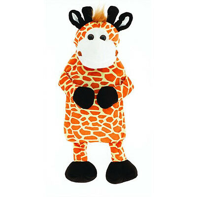 HUGGABLES GIRRAFFE 2l Hot Water Bottle Soft Jungle Friends For Adults