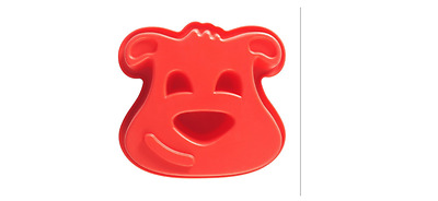 Silicone Dog Cake Mould Non-Stick Flexible Bakeware Creative Baking **Free P&P**