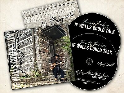 """""""If Walls Could Talk"""" CD/DVD SET by Justin Johnson"""