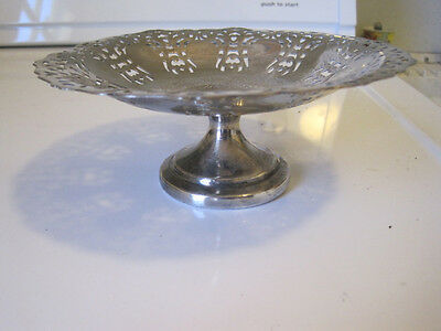 Wm. A Rogers S. P. Copper 8808 Candy Dish