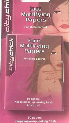 City Chick Face Mattifying Papers