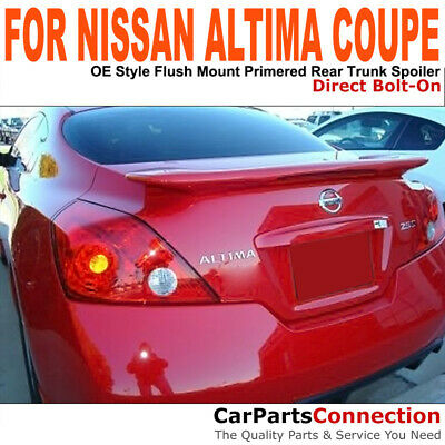 Painted Trunk Spoiler For 2008 Nissan Altima 2Dr Coupe QX3 SATIN WHITE PEARL