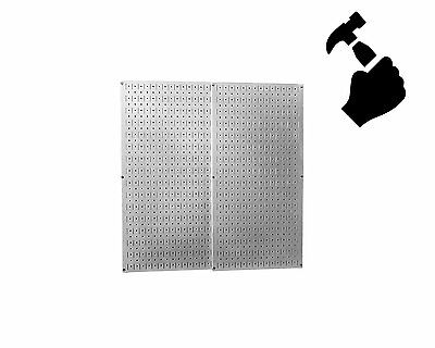NEW Wall Control 30P3232GV Galvanized Steel Pegboard Pack *USA*