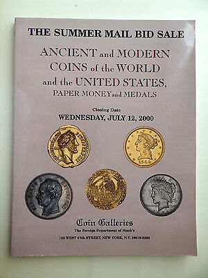Stack's Auction Catalog July 12, 2000 Ancient and Modern Coins World and US