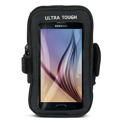 Gecko Ultra Tough Armband iPhone/Android/Samsung Arm Cover Running Case Black