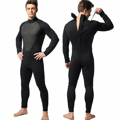 Diving Wetsuit 3mm Neoprene Suits for Men Surf Swimming Suit One-piece Swimsuit