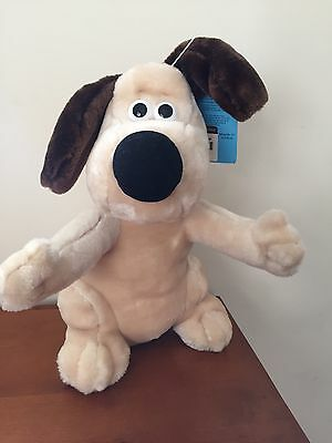 wallace and Gromit Collectible Plush Doll. New. Rare