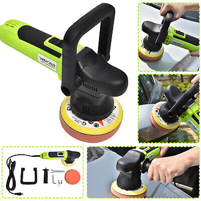 "5"" 650W Electric 6 Variable Speed Car Polisher Buffer Waxer Sander Detail Boat"