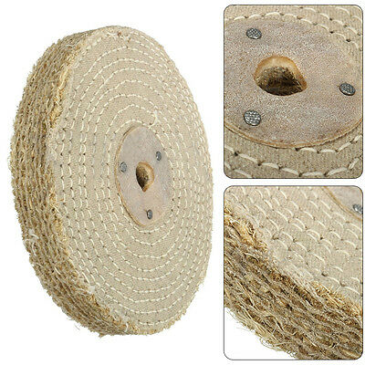 6'' 150*20mm Sisal Cloth Buffing Wheel For Stainless Steel Metal Polishing Tool