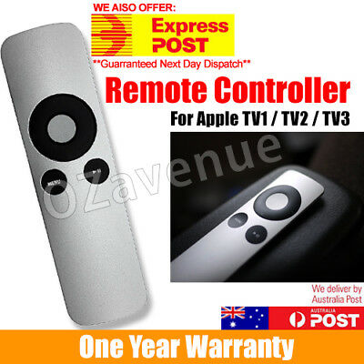Universal Replacement Infrared Remote Control Compatible For Apple TV1 TV2/TV3