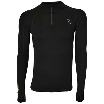XTM Merino Zip Neck Base LayerTop - Men's Camping Hiking Outdoors
