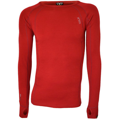 XTM Merino Crew Neck Base Layer Top- Men's Camping Hiking Outdoors