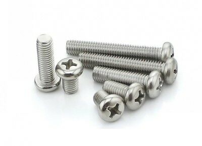 Select Size M1 M1.2 M1.4 M1.6 Stainless Steel Phillips Button Dome Head Screws
