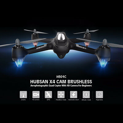 Hubsan X4 H501C Brushless W/ 1080P HD Camera GPS Altitude Hold RC Quadcopter  AU
