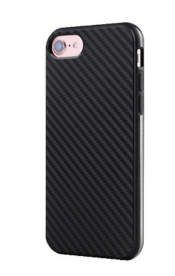 Luxury Carbon Fiber Fibre Soft TPU Silicone Thin Case Cover for iPhone 6 6s 7 8