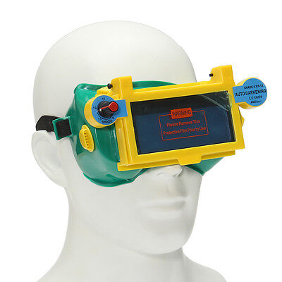 Automatic Variable Light Welding Protective Mask Dimming Goggle Welding Glasses