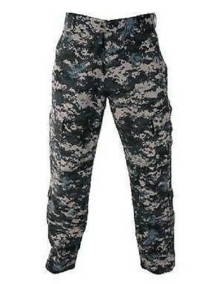 US PROPPER ACU Navy Army NWU Subdued Combat Battle Rip pants Hose Tarnhose LR