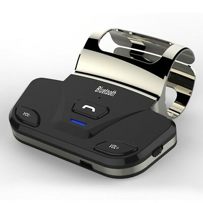 LD-318 Wireless Bluetooth Car Kit Support Hands-free Phone Calls w/ Car Charger