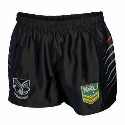 NEW New Zealand Warriors NRL Kid s Supporter Shorts by Classic Sportswear ee2707d5a