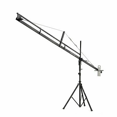 PROAIM™ 12ft Jib Arm with Jib Stand Supporting Cameras weighing upto 6.8kg /15lb