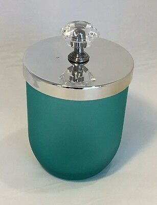 Mint Candle Jar With Knob Lid (box of 12)