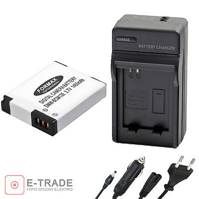 Battery + CHARGE for Panasonic DMW-BCM13E Lithium-Ion Lumix TZ60,TZ55 ,TZ70 TZ71
