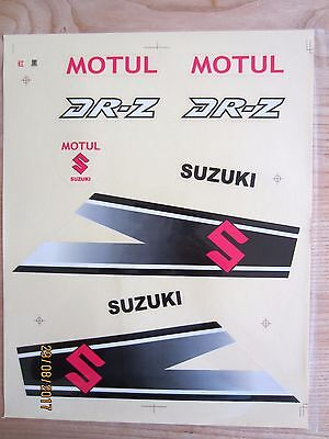 Suzuki DR Z Decal Sticker Set NOS !