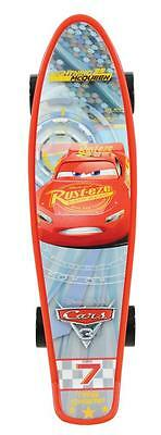 Disney Cars 3 Junior Kids Cruiser Skateboard PVC Wheels Single Kicktail M02243