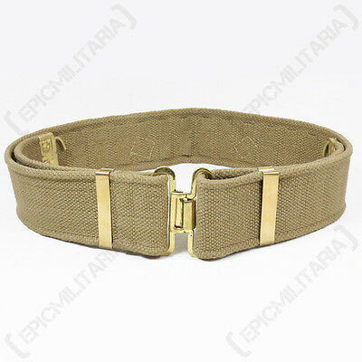 WW2 British Army 37 Pattern Belt - Repro Soldier Webbing Uniform All Sizes New